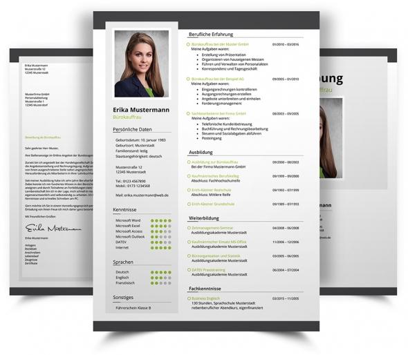 bewerbungsdesign 20 - Design Bewerbung