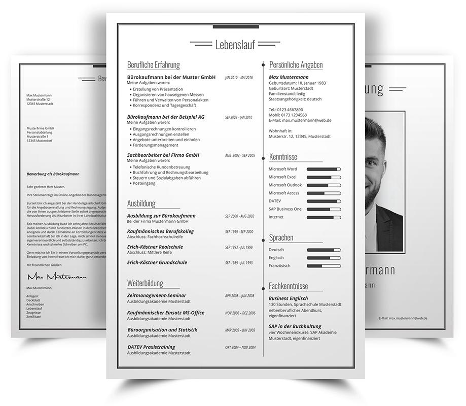 bewerbungsdesign 10 - Bewerbung Design Kostenlos